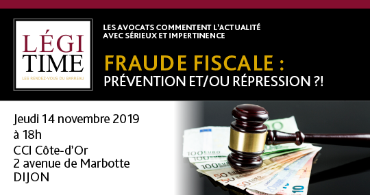 Fraude fiscale : Prévention et / ou Répression ?!