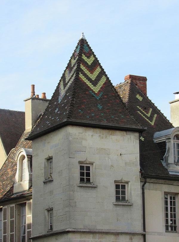 Toit bourguignon Dijon