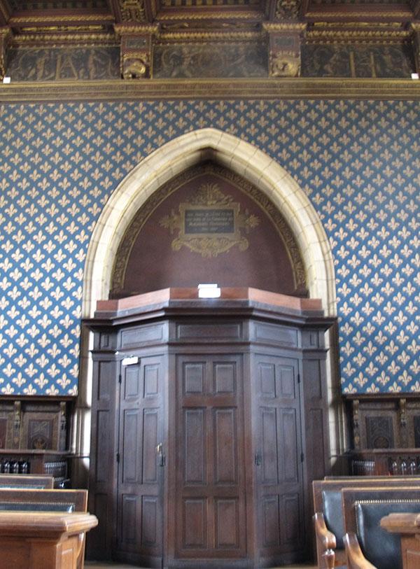interieur tribunal Dijon