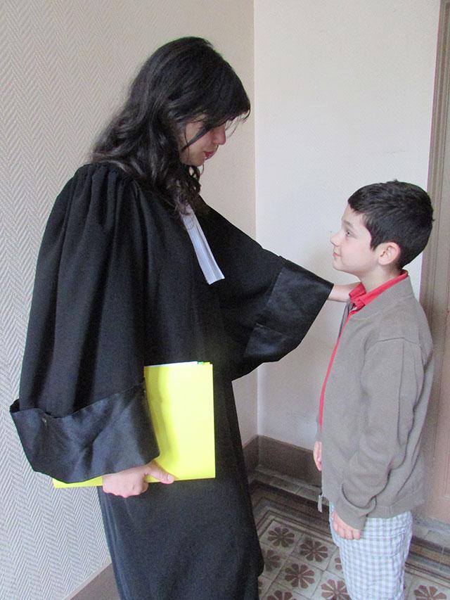 avocate et mineur