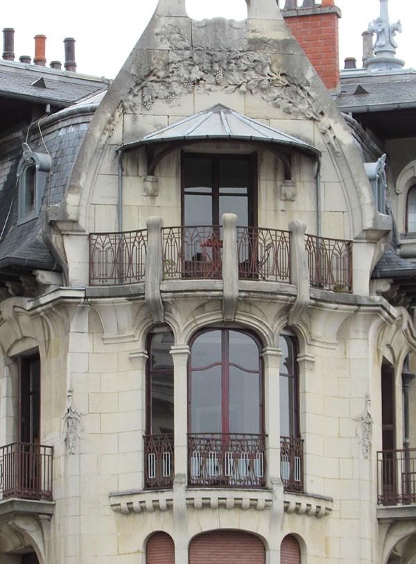 Maison en angle de Dijon